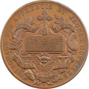 Trotin (C.) : Saint Vincent de Paul patron des apprentis, 1891 Paris