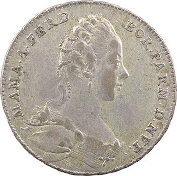 Italie, Parme, mariage de l'archiduchesse Marie-Amélie avec Ferdinand Ier de Parme, 1769