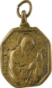 Espagne, Saint François de Paule et Notre-Dame de la Consolation (Utrera), fonte, s.d. (XVIIIe S.)