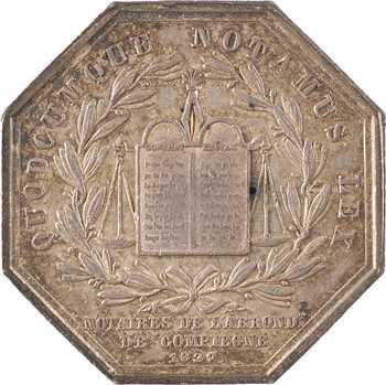 Louis-Philippe Ier, les notaires de Compiègne, par Coquardon, 1830/27 Paris