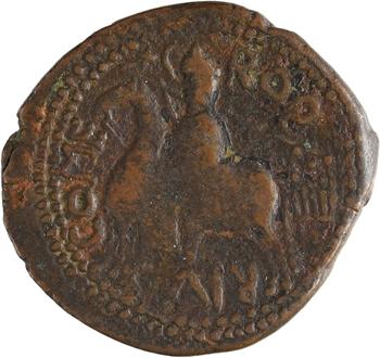 Italie, Calabre et Sicile (comté de), Roger Ier, trifollaro, s.d. (1098-1101) Mileto