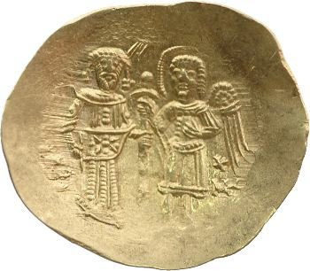 Isaac II, hyperpyron d'or, Constantinople, 1185-1195