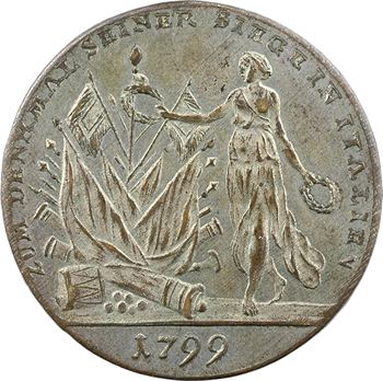 Russie, le général Souvorov (Souvarov), victoires en Italie, 1799