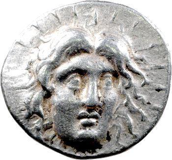Carie, tétradrachme, Rhodes, IVe s. av. J.-C.