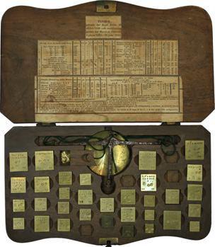Italie/Savoie, trousse de vérificateur des monnaies italiennes, c.1850 Chambéry