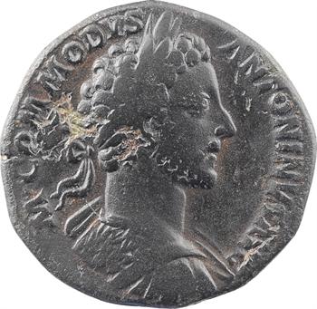 Commode, sesterce, Rome, 180