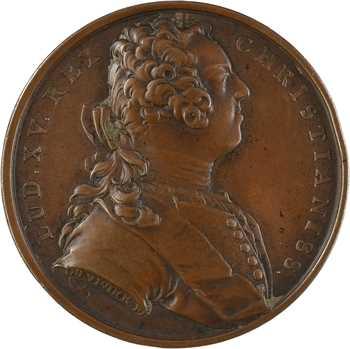 Louis XV, la pacification de Genève, 1738 Paris