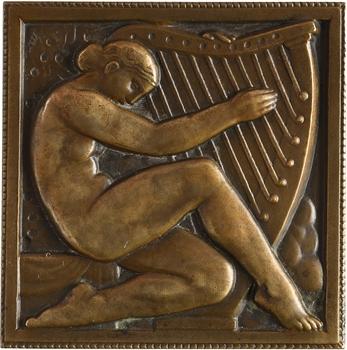 Renard (M.) : Femme à la harpe, 1927 Paris