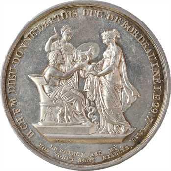 Duc de Bordeaux, sa naissance, par Montagny, 1820 Paris