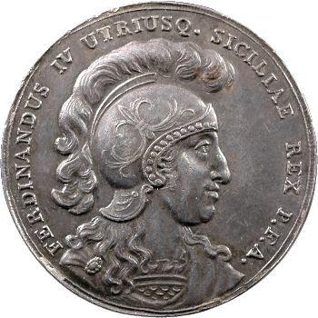 Italie, Sicile (Royaume de), Ferdinand IV, médaille militaire