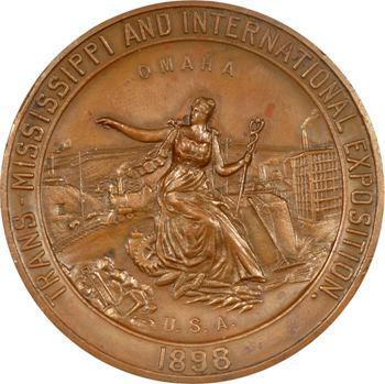 États-Unis, Exposition internationale Trans-Mississippi d'Omaha, 1898 Chicago