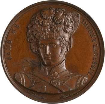 Royaume-Uni, médaille d'honneur des régiments écossais, par Mudie et Dubois, 1815