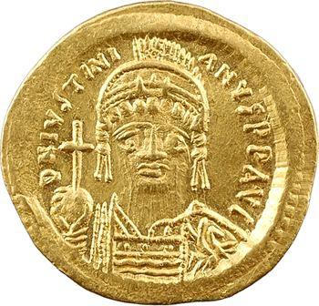 Justinien Ier, solidus, Constantinople ou Carthage, 12 (officine, année ou numéro de coin), c.540-550