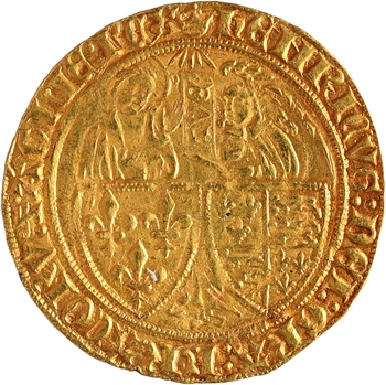 Henri VI, salut d'or 2e émission, Paris