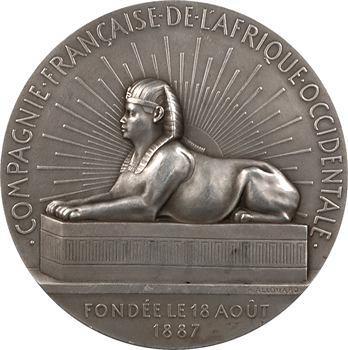 Afrique, Compagnie Française de l'Afrique Occidentale, 1936