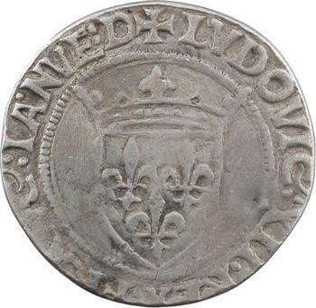 Louis XII, Gênes 2e période, teston d'argent, Gênes