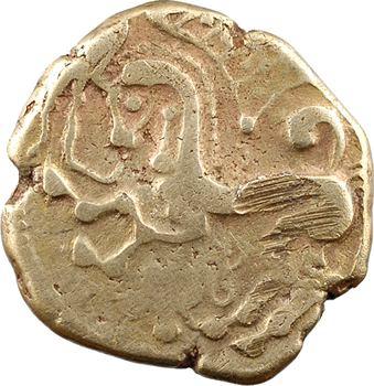 Parisii, statère, classe VIIa (avec triskèle), c.60-40 av. J.-C.
