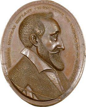 Brulart (Nicolas), médaille, s.d., frappe moderne