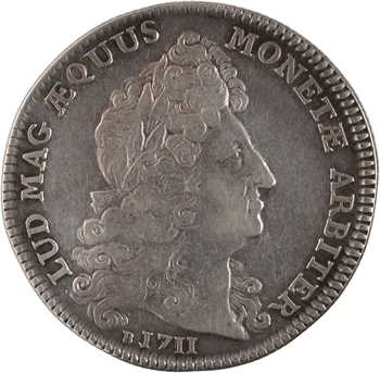 Louis XIV, Normandie, les prieurs et juges-consuls de Rouen, 1712 Paris