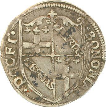Italie, Bologne (Rép. de), carlin ou gros anonyme, s.d. (XVIe s.) Bologne