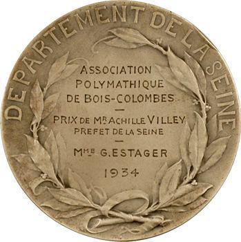 Prud'homme (G.-H.) : Association Polymathique de Bois-Colombes, 1934 Paris
