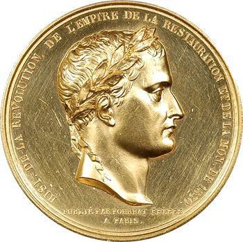 Louis-Philippe Ier, Napoléon Ier aux Invalides, pour Pourrat frères, (1844)