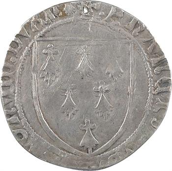 Bretagne (duché de), François II, gros à l'écu, s.d. Nantes