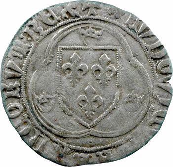 Louis XI, blanc à la couronne, 2e émission, Perpignan