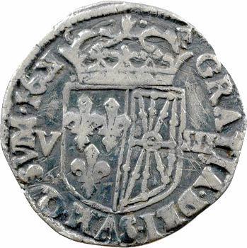 Henri IV, huitième d'écu de Navarre, 1601 Saint-Palais