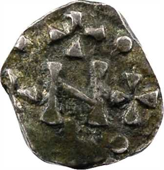 Marseille, denier buste à droite du patrice Nemfidius, c.700-730