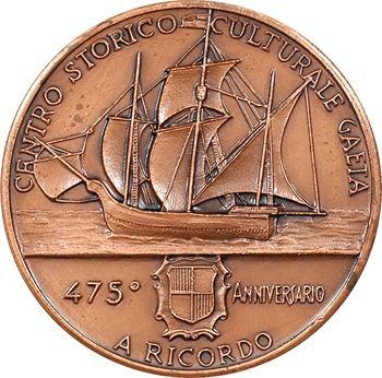 Italie, 475ème anniversaire du décès de Jean Cabot (Giovanni Caboto), 1498-1973