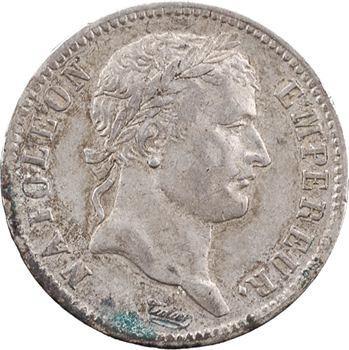 Premier Empire, 1 franc Empire, 1810 La Rochelle