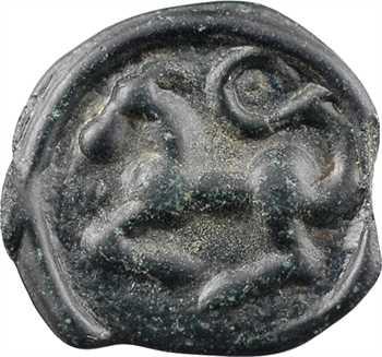 Séquanes, potin à la légende DOCI, c.80-50 av. J.-C.