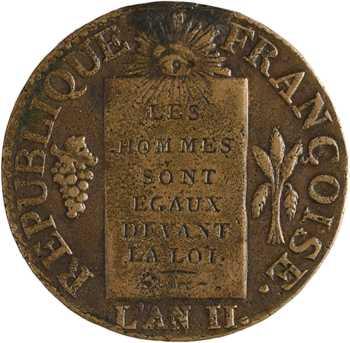 Convention, sol aux balances, 1793 Dijon