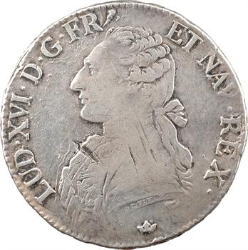 Louis XVI, écu aux branches d'olivier, 1788 Toulouse