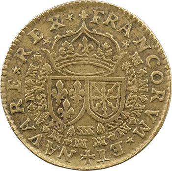Louis XIII, jeton fabriqué à Sedan, s.d. (c.1625)