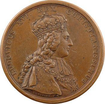 Louis XVI, le sacre du Roi Louis XVI par Duvivier, 1775 Paris