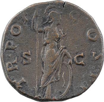 Marc Aurèle César, as, Rome, 145-146