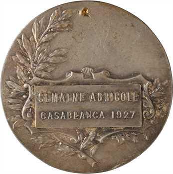Maroc, Casablanca, semaine agricole, 1927