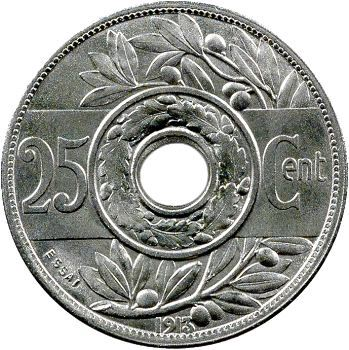 IIIe République, essai de 25 centimes par Varenne, grand module, 1913 Paris