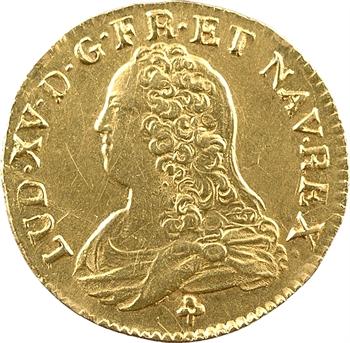 Louis XV, louis aux lunettes, 1735/4 Troyes