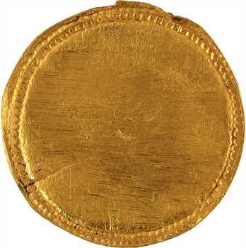 Constantin Ier, médaillon d'or uniface, Aquilée ou Ticinum, c.318