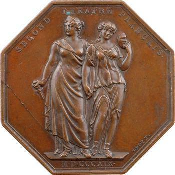 Louis XVIII, le second théâtre français, 1819 Paris