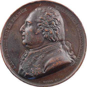 Suprême conseil de France, Decazes Grand commandeur, 1818 Paris