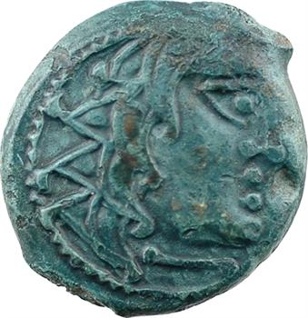 Carnutes, bronze à l'aigle et au pentagramme, c.Ier s. av. J.-C.