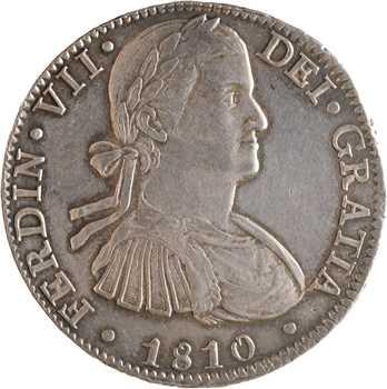 Mexique, Ferdinand VII, 8 réaux, 1810 Mexico