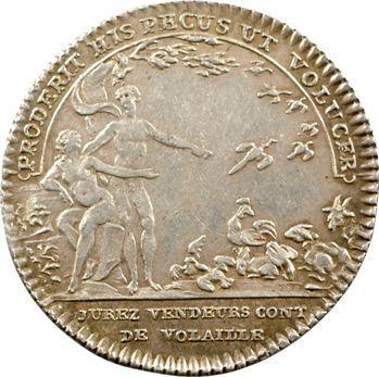 Paris (ville de), corporations, jurés-vendeurs de volailles, Louis XVI, s.d