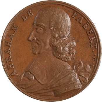Abraham de Fabert, par Dassier, s.d
