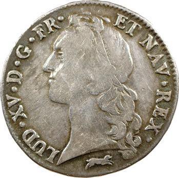 Louis XV, écu au bandeau, 1767 Orléans