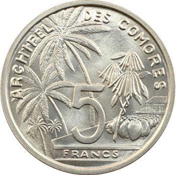 Comores, essai de 5 francs, 1964 Paris
